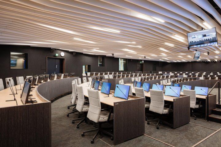 Black box main meeting room, European Chemical Agency ECHA