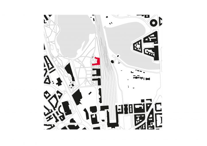 Town plan, EY Office and Residential Building