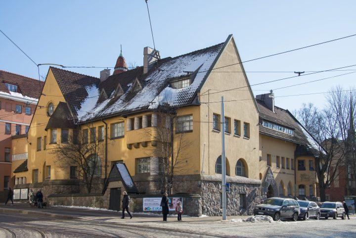 Street façade , Eira Hospital