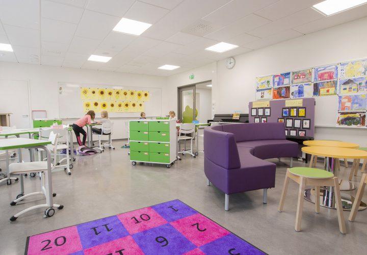 A classroom, Satavuo School and Daycare Centre