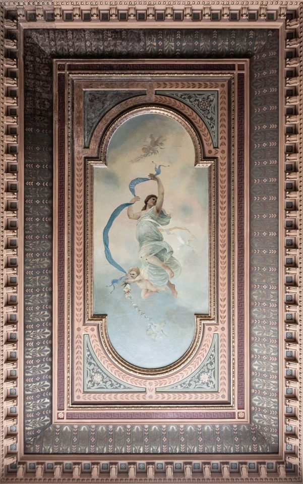 The ceiling painting, Erottaja 2