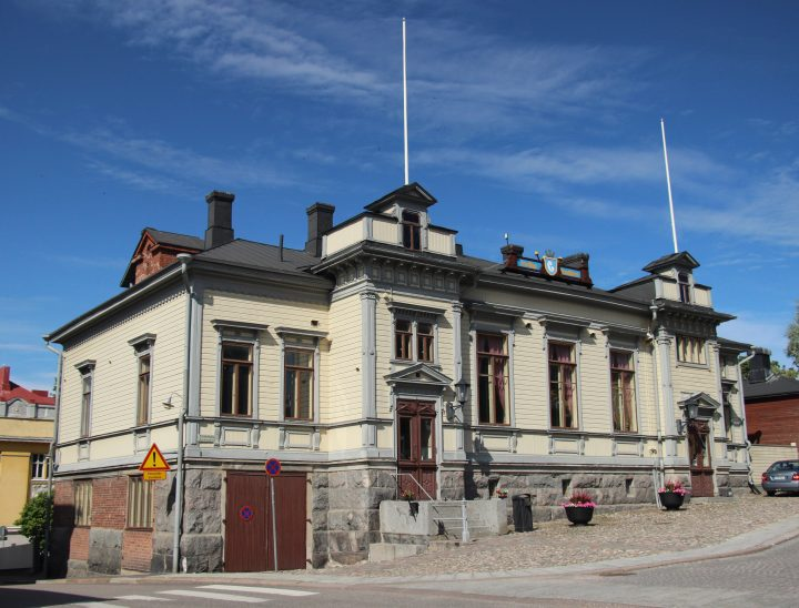 Eastern elevation, Porvoo Voluntary Fire Brigade House