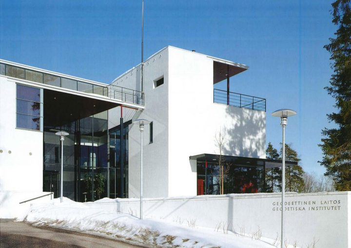 South elevation, Finnish Geospatial Research Institute