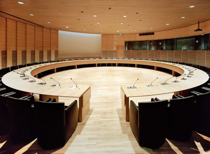 Grand Committee meeting room, Little Parliament