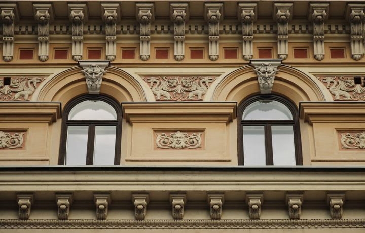 Details of the façade, Grönqvist Building