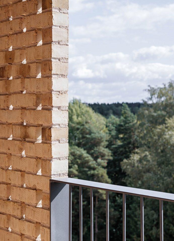 View from a balcony, Gullkronan Senior Housing