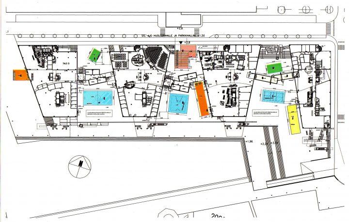 Ground plan, HTC High Tech Centre