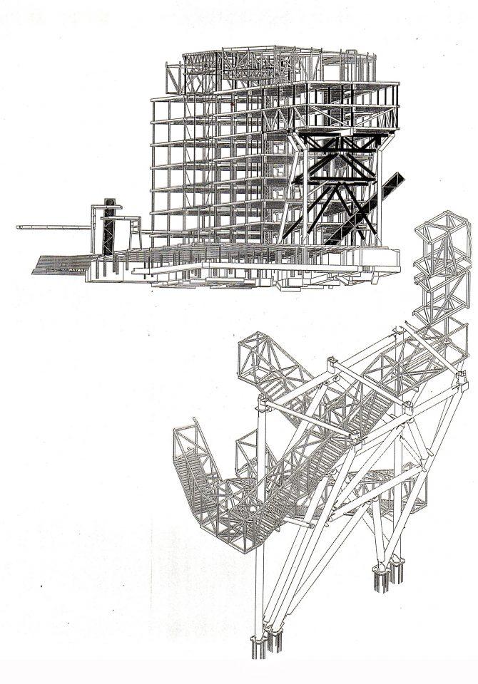 Structure element, HTC High Tech Centre