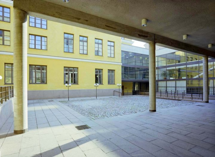Inner courtyard., Helsinki City Hall