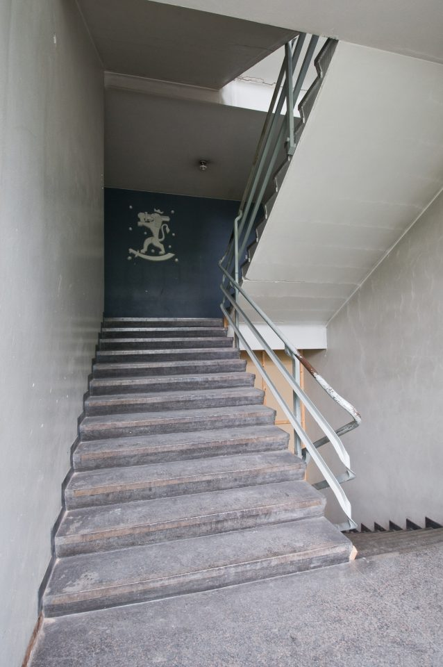 Staircase, Helsinki Motorised Company Barracks