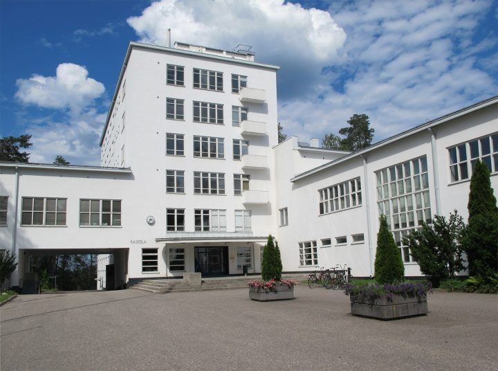 Façade of the main building today., Vierumäki Sports Institute