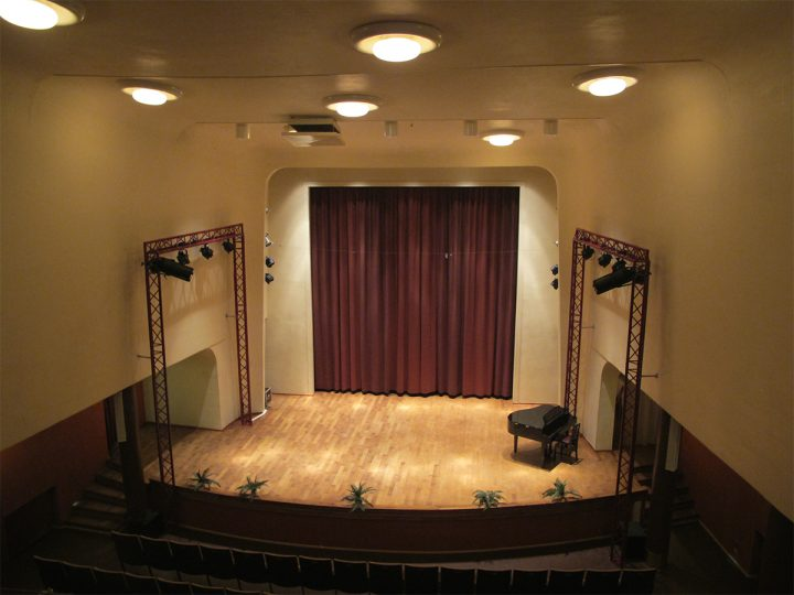 CInema auditorium., Kiva Cinema