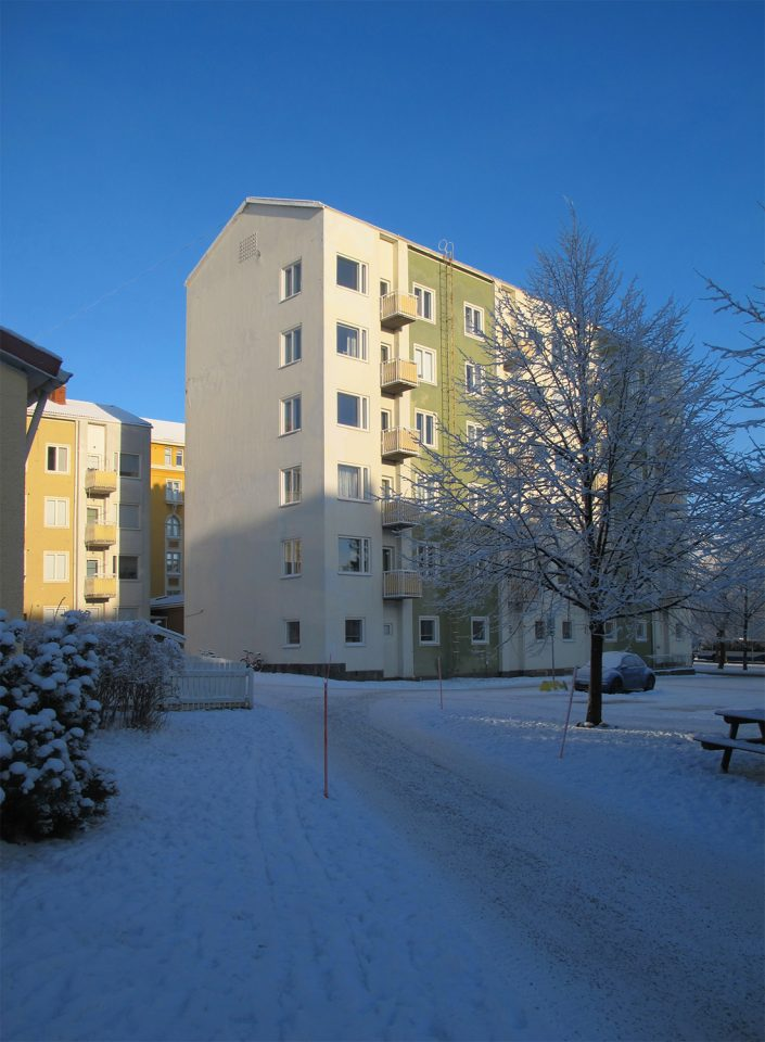 Hämeenpuisto 10 apartment block, Finlayson-Forssa Amurinlinna Housing Block