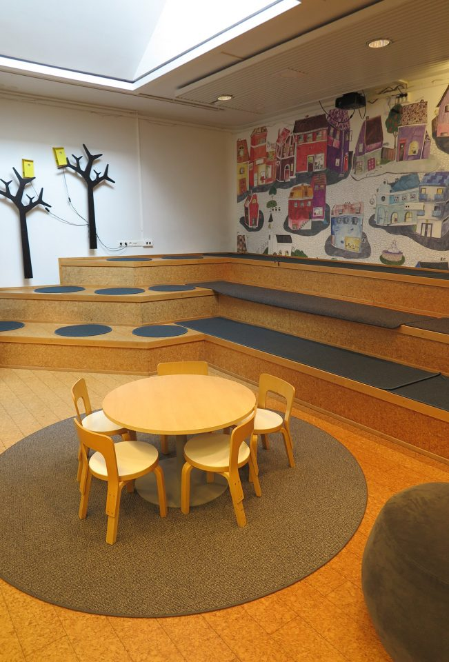 Children's section of the library, Iisalmi Cultural Centre
