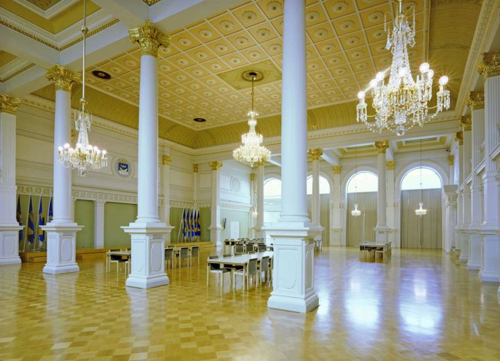 Banquet hall., Helsinki City Hall