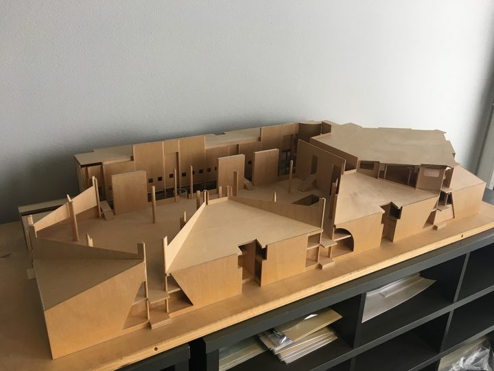 Scale model, Joensuu City Library