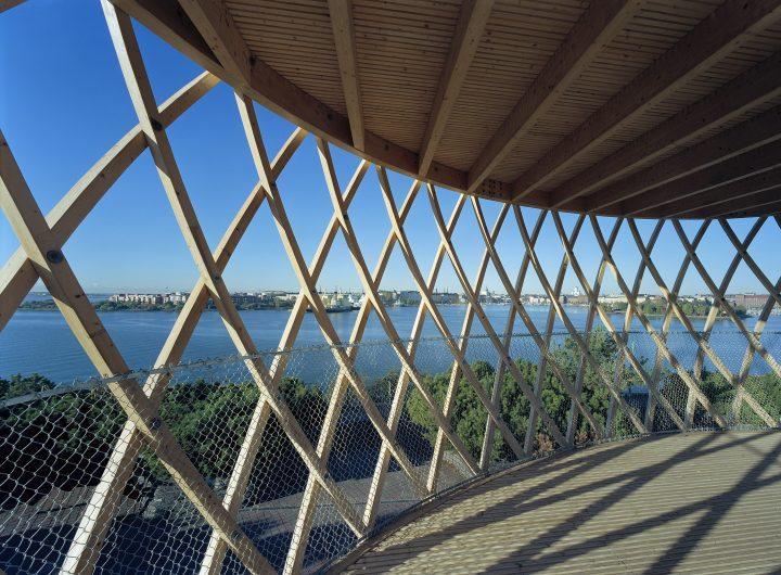 Helsinki Zoo Observation Tower  Kupla