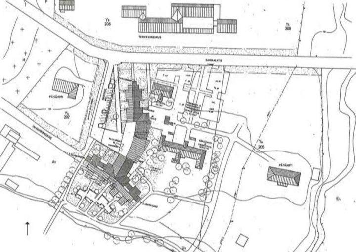 Site plan , Juvakoti Service Centre