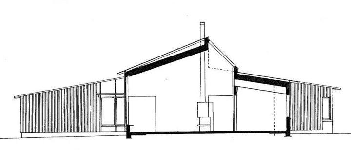 Section plan, Juvakoti Service Centre