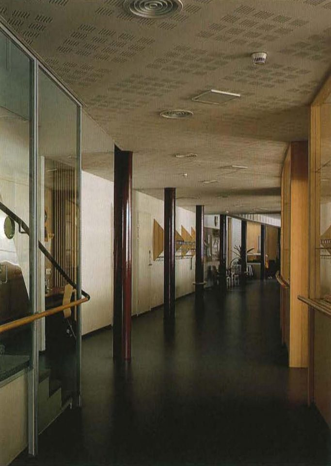 Hallway of the service apartments, Juvakoti Service Centre