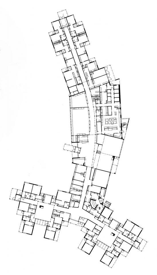Floor plan, Juvakoti Service Centre