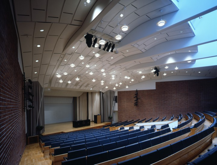 The assembly hall of the main building, University of Jyväskylä, the Aalto's Campus