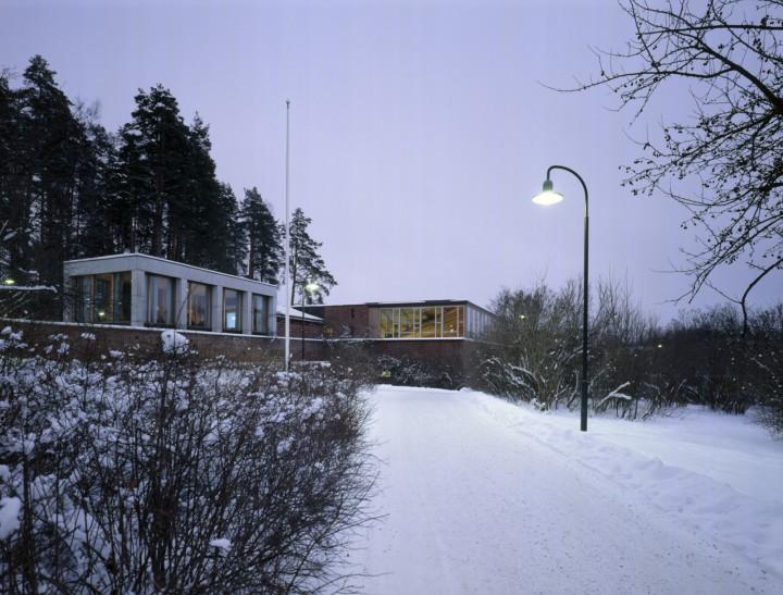 The teacher's cafeteria Lyhty and the student restaurant Lozzi, University of Jyväskylä, the Aalto's Campus