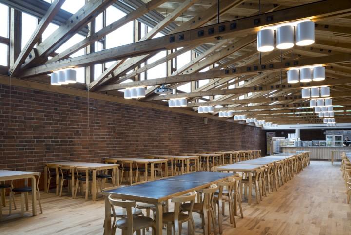 The student restaurant Lozzi, University of Jyväskylä, the Aalto's Campus