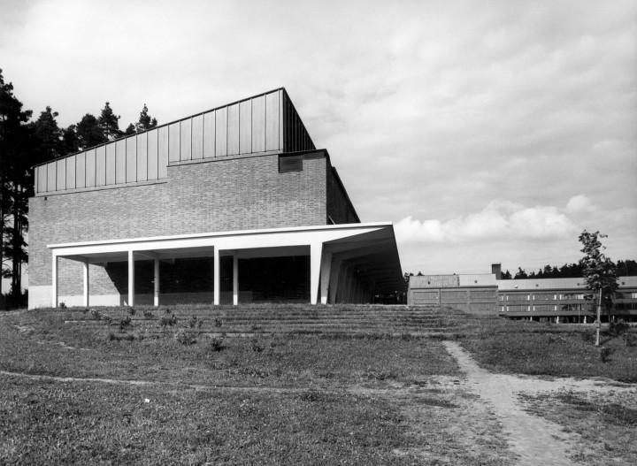 The swimming hall, University of Jyväskylä, the Aalto's Campus