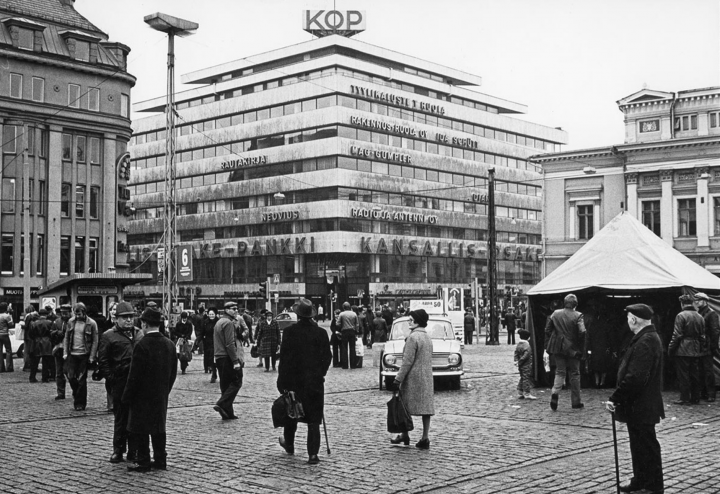 The KOP-kolmio Commercial Building