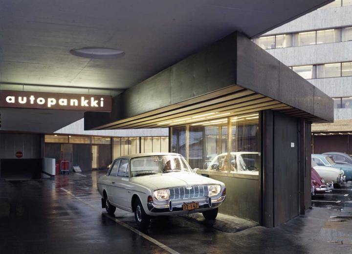 Parking garage, The KOP-kolmio Commercial Building