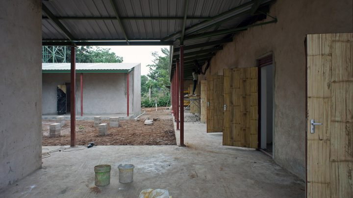 Construction phase, KWIECO Shelter Home