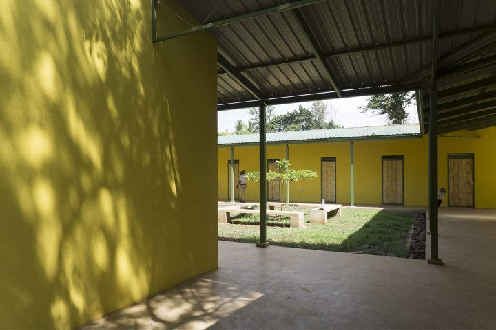 Courtyard, KWIECO Shelter Home