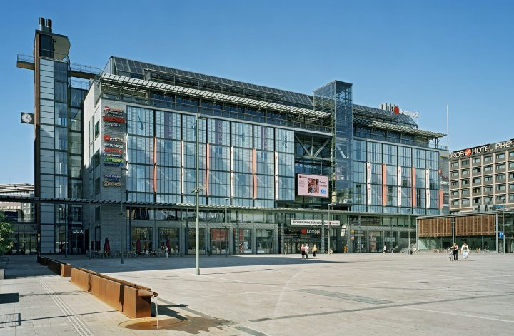 Kamppi Shopping Centre and Public Transport Terminal