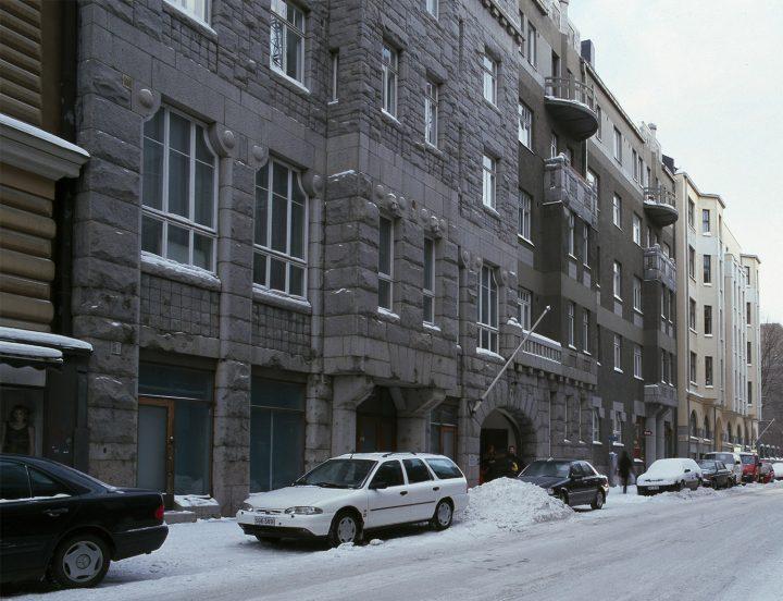 Liisankatu street view, The Karelian House