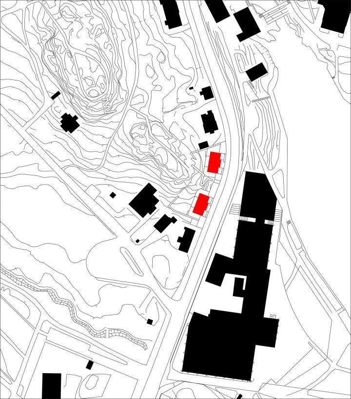 Town plan, Kellokas Semi-detached House