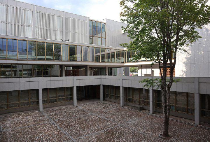 Courtyard view, Kouvola Town Hall