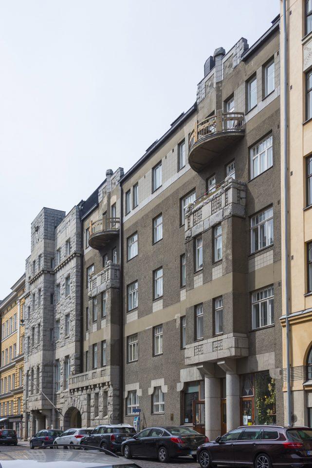 Karjalaisten talo – The house of the Karelians from 1910 , The Karelian House