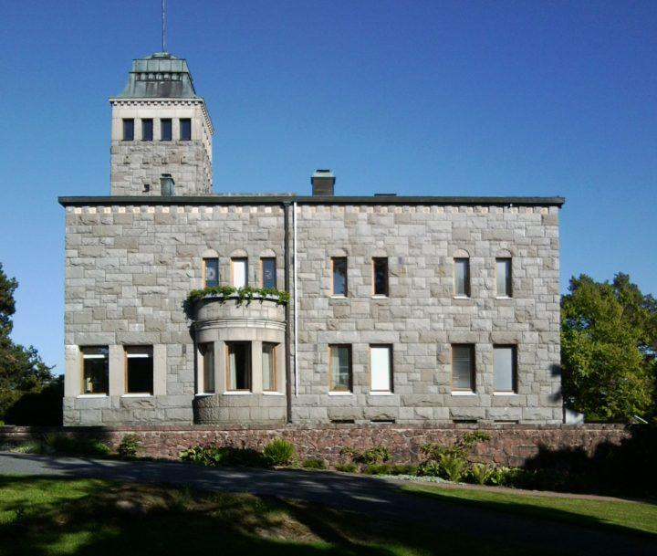 South-east elevation, Kultaranta Summer Residence of the President of Finland