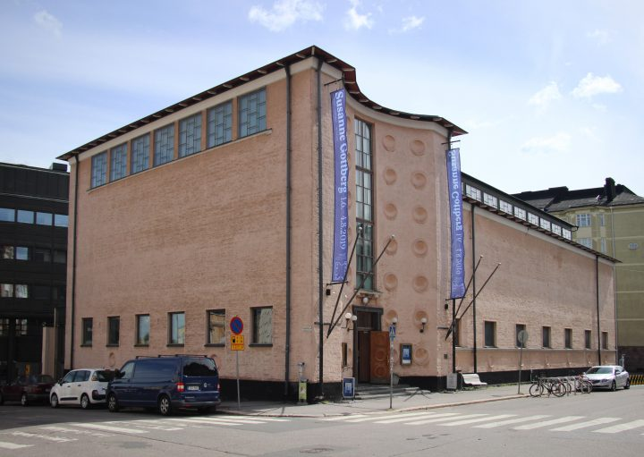 Kunsthalle from North West, Kunsthalle Helsinki