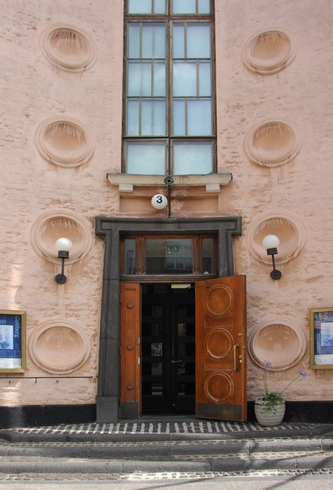The main entrance, Kunsthalle Helsinki