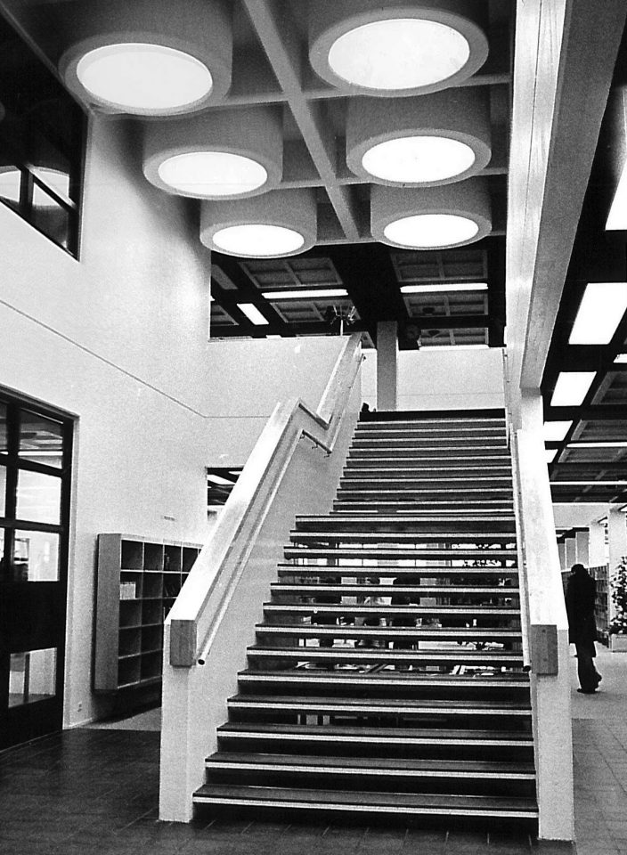 The main staircase, City Library