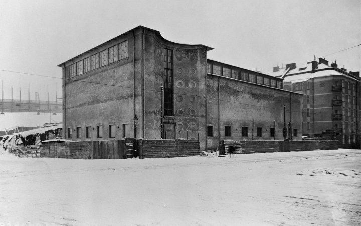 Kunsthalle in 1929, Kunsthalle Helsinki