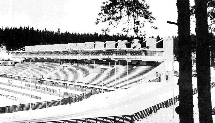 Stadium seen from the east, Lahti Stadium
