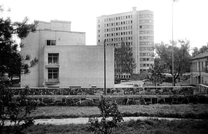 Children's hospital from the West in 1949, Lastenlinna Children's Hospital