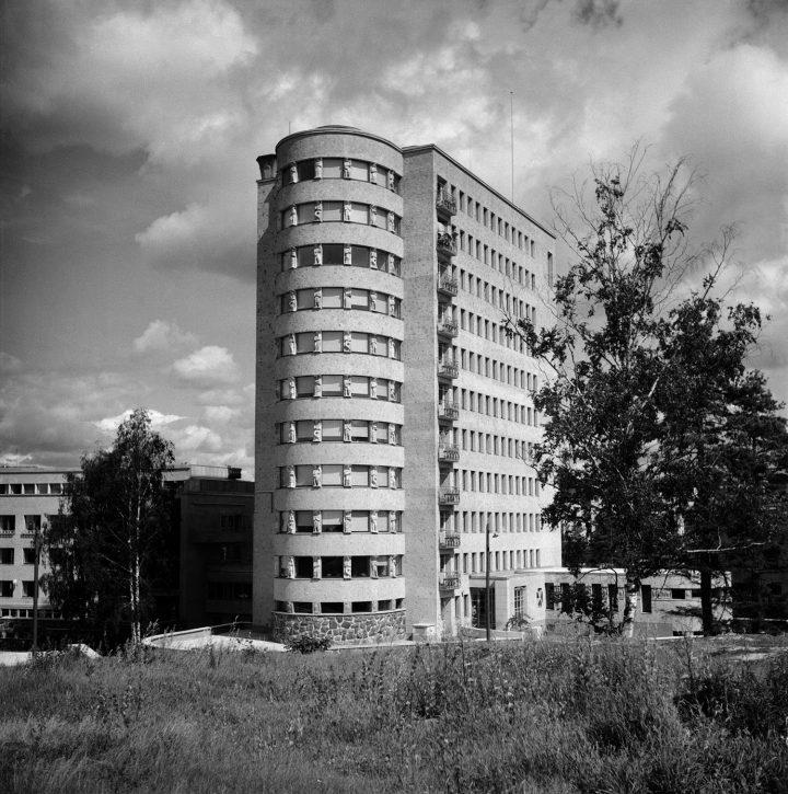 Children's hospital photographed in 1950, Lastenlinna Children's Hospital