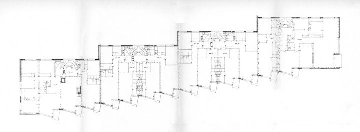 Floor plan of Linnankatu 8's 6th floor, Carenia & Linnankatu 8 Housing