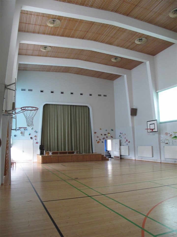 Sports hall, Malm primary school