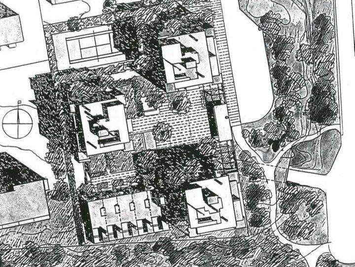 Site plan, Meritähti Housing