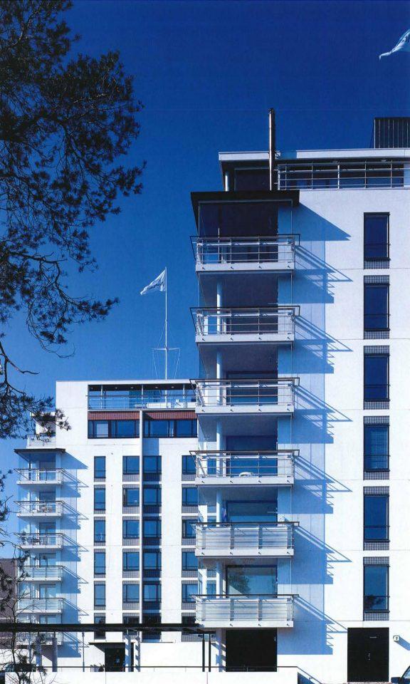 Elevations of blocks of flats, Meritähti Housing